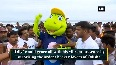 Watch Hockey World Cup mascot Olly unveiled at Puri beach