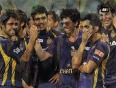 Srk  happy  with kkr s victory!