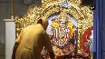 Morning aarti performed at Jhandewalan Temple on fourth day of Navratri
