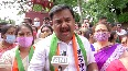 NCP workers hold protest against fuel price hike in Maharashtra