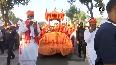 Watch: CM Yogi leads 'Shobha Yatra' on Vijayadashami from Gorakhnath Temple