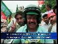 BJP S two-wheelers rally to protest price hike