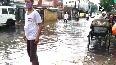 Severe water logging in parts of Dholpur, following heavy rainfall.mp4