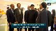 Minister Piyush Goyal arrives at DubaiExpo2020 venue in Dubai