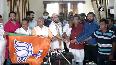 TMC Councillors, Bidhannagar Mayor-in-council join BJP