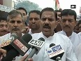 Jammu AIIMS row NPP stages protest against BJP