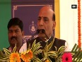 India wants to resolve border dispute with china says rajnath