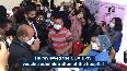 CM Biren Singh launches vaccination drive at JNIMS in Manipur