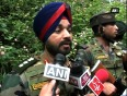 Indian army recovers pakistan made landmine in kashmir