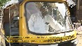 COVID-19 Mumbai auto driver installs isolation cover to ensure safe travel.mp4