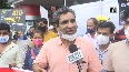 AAP holds protest against fuel price hike in Goa