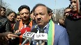Second coronavirus patient was in contact with first one in China, informs Harsh Vardhan