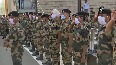74th Independence Day ITBP Chief hoists national flag at Attari-Wagah border.mp4