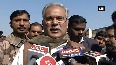 Watch CM Bhupesh Baghel distributes sweets to labourers on New Year