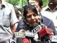 PM Modi is concerned about situation in Kashmir Mehbooba Mufti