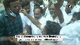 DMK workers celebrate outside party HQ after Stalin takes oath as TN CM