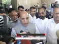 Injured CRPF personnel are recovering, says Rajnath Singh