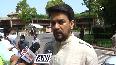 Anurag Thakur lambasts opposition for creating ruckus in Parliament