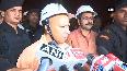 UP CM Yogi Adityanath conducts midnight inspection of developmental works in Varanasi