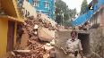 On cam: Building collapses in Bengaluru