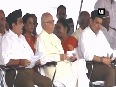 Watch RSS workers take part in route march to mark Vijayadashami