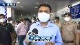 CM Pramod Sawant visits COVID wards in Panaji