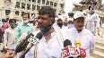 Karnataka Congress protest against COVID-19 package, calls it bogus announcement