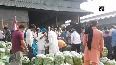 People flout COVID guidelines at Ludhiana vegetable market