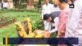 JP Nadda, CM Fadnavis pay tribute to Savarkar, Bal Thackeray