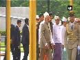 PM Modi arrives in Myanmar, inspects guard of honour