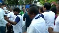 Watch Mamata Banerjee greets her supporters as she inches closer to victory