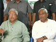 Nitish will continue as CM Lalu