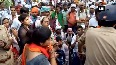 Clash breaks out between BEd TET aspirants and police officials in Lucknow