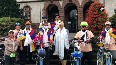 Cycle rally held to spread awareness about Chinese occupation of Tibet.mp4