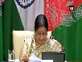 India, Afghanistan united to overcome challenges posed by cross-border terrorism EAM Sushma Swaraj