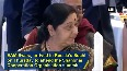 Watch EAM Sushma Swaraj attends reception hosted by Russian PM Medvedev
