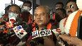 BJP central observer Narendra Singh Tomar arrives in Gujarat