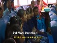 Watch PM Modi interacts with specially-abled children onboard a ferry