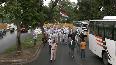 Rajiv Gandhi birth anniversary Congress Sevadal holds march in Delhi