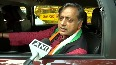 Shashi Tharoor hopes Amit Shah to take decisive steps during his J&K visit