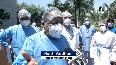 Harsh Vardhan visits Rajiv Gandhi Super Speciality Hospital in Delhi