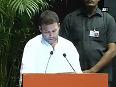 Democracy under threat from fascist BJP-RSS Rahul Gandhi