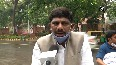 Watch Congress MP cycles to Parliament to protest against fuel price hike