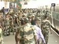 Paramilitary personnel in Chennai ahead of assembly polls