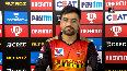 IPL 2020, SRH vs DC Good to see David Warner so aggressive, says Rashid Khan.mp4
