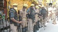 Security beefed up ahead of Ram Temple foundation stone laying ceremony in Ayodhya.mp4