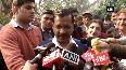 CM Kejriwal visits govt school on mega PTM in Delhi