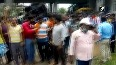 TMC, BJP workers clash over construction of party office in WB s Bardhaman.mp4