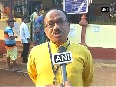 Goa Polls CM Laxmikant Parsekar casts his ballot