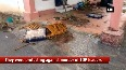 Angry mob sets police station ablaze to protest against murder of TDP leaders